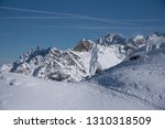 view of the mountains around... | Shutterstock . vector #1310318509