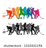 color sport background.... | Shutterstock .eps vector #1310331196