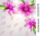 wedding card or invitation... | Shutterstock .eps vector #131033270