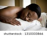 content mid adult woman lying...   Shutterstock . vector #1310333866