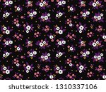 cute floral pattern in the... | Shutterstock .eps vector #1310337106