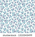 floral pattern. pretty flowers... | Shutterstock .eps vector #1310343499