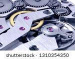gears of a mechanical watch... | Shutterstock . vector #1310354350