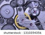 gears of a mechanical watch... | Shutterstock . vector #1310354356