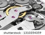 mechanical clock mechanism... | Shutterstock . vector #1310354359