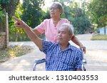 beautiful family senior couple...   Shutterstock . vector #1310403553