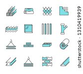 set of building construction... | Shutterstock .eps vector #1310419939