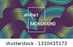trendy geometric background... | Shutterstock .eps vector #1310435173
