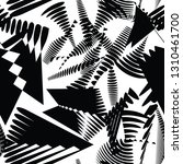 abstract dot geometric seamless ... | Shutterstock .eps vector #1310461700