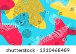 pop art color background.... | Shutterstock .eps vector #1310468489