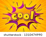 colorful banner with caption... | Shutterstock .eps vector #1310474990