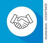 business handshake  contract...