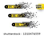 set of quick tips  list helpful ... | Shutterstock .eps vector #1310476559