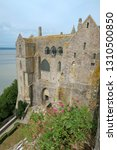 view to walls of monastery in...   Shutterstock . vector #1310500850