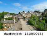 view to the roofs and buildings ...   Shutterstock . vector #1310500853