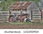 An Old Tractor  Though Retired...