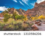 Autumn comes to the Buckhorn Wash area of the San Rafael Swell in central Utah, United States.