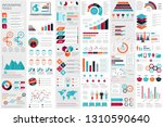 infographic elements data... | Shutterstock .eps vector #1310590640