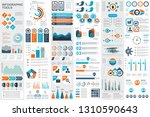 infographic elements data... | Shutterstock .eps vector #1310590643