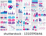 infographic elements data... | Shutterstock .eps vector #1310590646