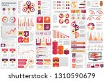 infographic elements data... | Shutterstock .eps vector #1310590679