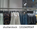 clothes line in glasses shop at ... | Shutterstock . vector #1310609069
