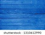 blue wood plank texture... | Shutterstock . vector #1310612990
