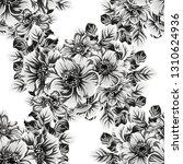 flower print. elegance seamless ... | Shutterstock .eps vector #1310624936