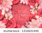 happy mother's day card... | Shutterstock .eps vector #1310631440