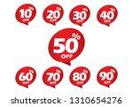 sale label set tag vector... | Shutterstock .eps vector #1310654276