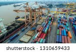 logistics and transportation of ... | Shutterstock . vector #1310659433