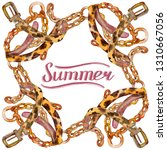 Leather And Golden Chain Belts...