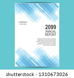 geometric business brochure...   Shutterstock .eps vector #1310673026