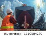 supervisor  foreman  inspector  ... | Shutterstock . vector #1310684270