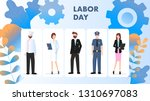 labor day different occupation... | Shutterstock .eps vector #1310697083