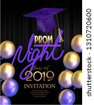 Prom Night Poster With Colorful ...