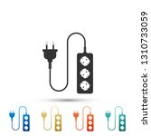 electric extension cord icon... | Shutterstock .eps vector #1310733059