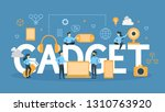 gadget concept illustration.... | Shutterstock . vector #1310763920