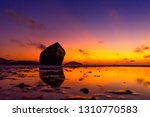 the dawn sea in thailand | Shutterstock . vector #1310770583