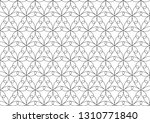 abstract geometric pattern with ... | Shutterstock .eps vector #1310771840