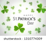 abstract st. patrick's day... | Shutterstock .eps vector #1310774309