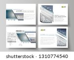 set of business templates for... | Shutterstock .eps vector #1310774540