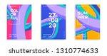 set of trendy design templates... | Shutterstock .eps vector #1310774633
