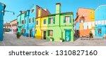 24 october 2018  burano  venice ... | Shutterstock . vector #1310827160