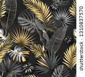 seamless tropical pattern.... | Shutterstock .eps vector #1310837570