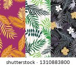 set of three tropical...   Shutterstock .eps vector #1310883800
