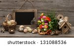 Vintage Decoration With Eggs....