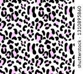 leopard seamless pattern ...   Shutterstock .eps vector #1310895860