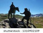 gotthard pass  switzerland  ...   Shutterstock . vector #1310902109