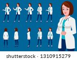 female doctor character... | Shutterstock .eps vector #1310915279